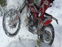 Ruta de enduro invernal