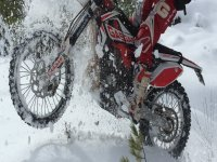 Winter enduro route