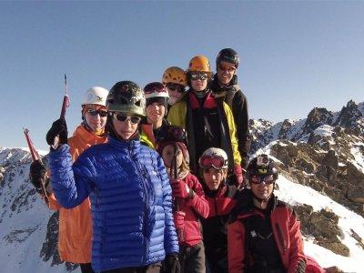 阿尔卑斯山升天和1天滑翔伞
