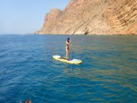 Keeping the balance on the SUP board