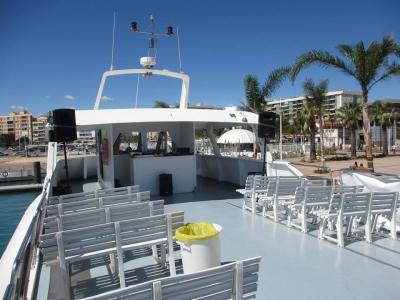 Festa in barca e giro a cavallo su Playa de Gandía
