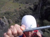 Well seized at the ferrata