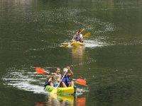 Rutas en canoa en familia
