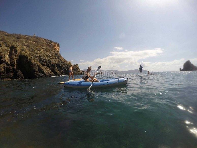 Kayaks monoplaza