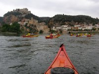 In kayak along the high routes
