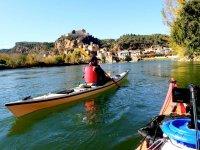 Miravet from the canoe