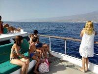 乘船游览岛屿