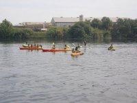 canoa sull'Ebro