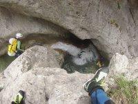 在威尼斯国际大学去Llevata登山运动的山沟