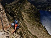 Escalando el Pirineo frances