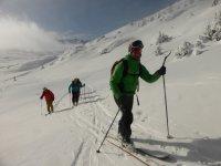 回头走与滑雪板