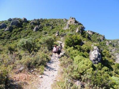 远足径穿过塞拉利昂的绿色路线