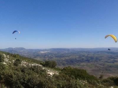 SierradeLíjar的双座滑翔伞