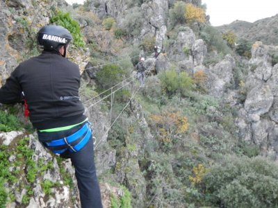 Vía Ferrata in Benaoján, Mid-level 3 hours