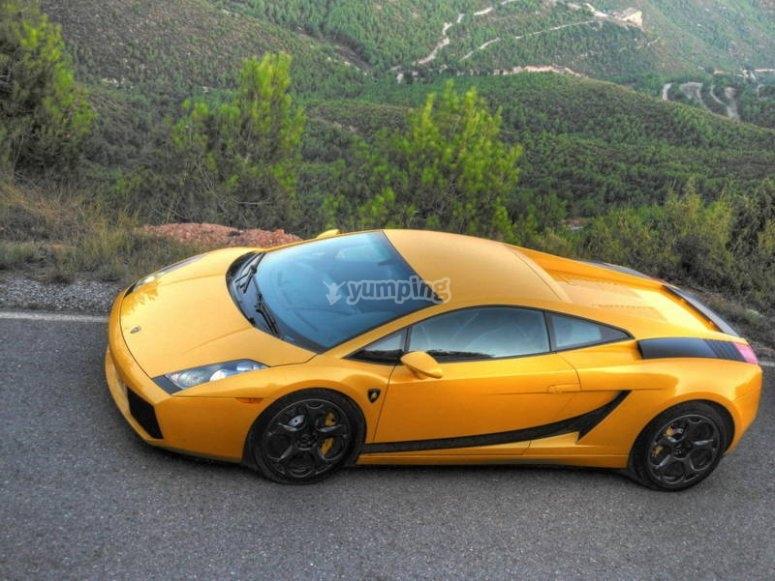 Conduce un Lamborghini