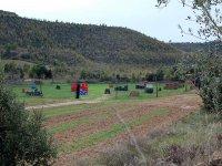 Vista general del campo