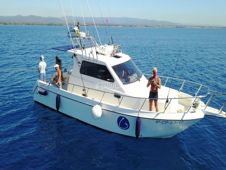 Barco en alquiler en Cambrils