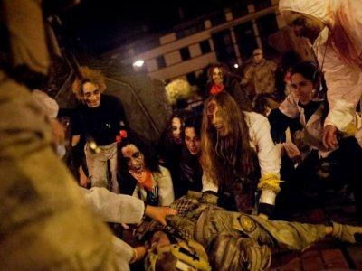 Survival zombie en San Sebastián de los Reyes