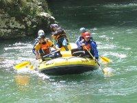 Excursión en rafting