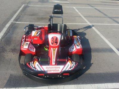 Tanda de karting de 300cc en Alhama de Murcia 8min