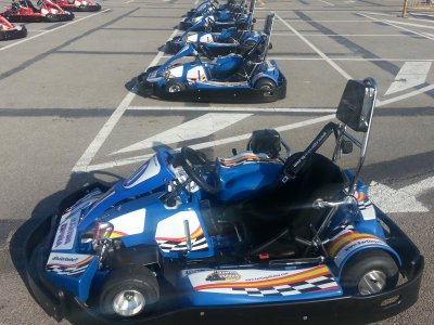 Kart de competición 400cc en Alhama de Murcia 8min