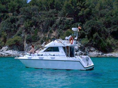 Paseo en barco y baño en Blanes, jornada completa