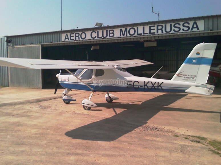 Mollerusa airfield.