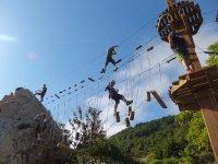 Circuito de Tirolina Sierra de Urbasa para Niños