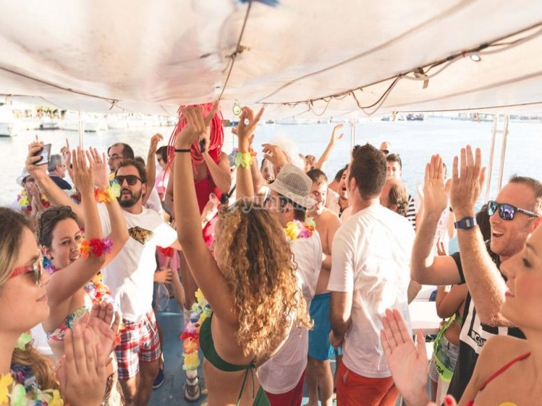 Catamarans for 80 people