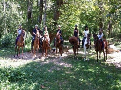 Equitazione attraverso le Cingles de Bertí 1h30min