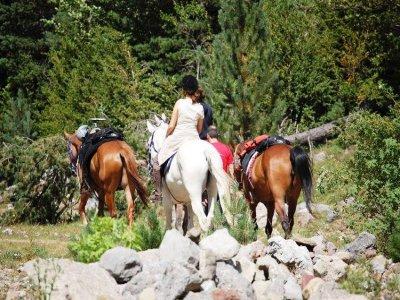 Equitazione a Cingles de Bertí e pranzo