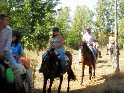 Equitazione attraverso Cabañeros cibi e bevande