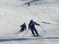 雪中的私人课程