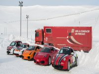 Nuestra flota de coches sobre la nieve