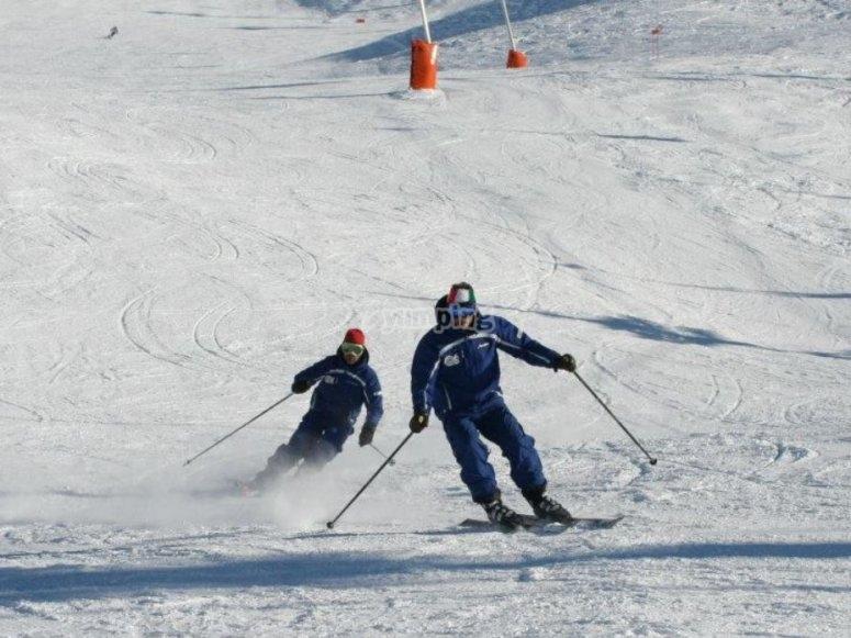 雪中私人课程