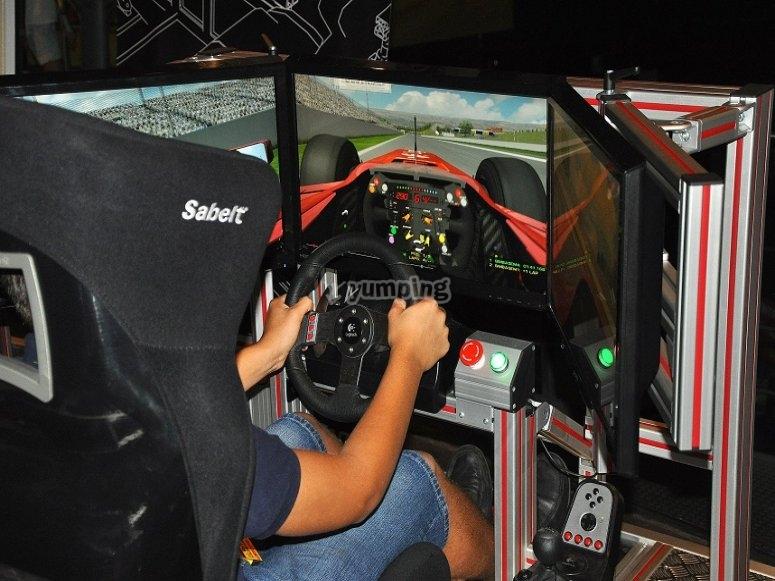 Simulador de F1