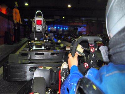 Tanda de karting infantil en Barcelona y merienda