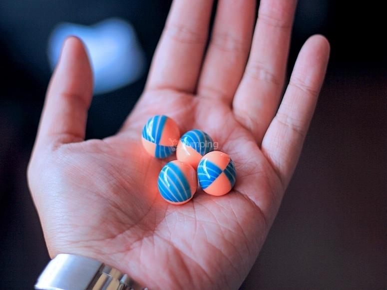 Bolas de painball
