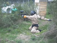Gioco Paintball in As Neves con 200 palline