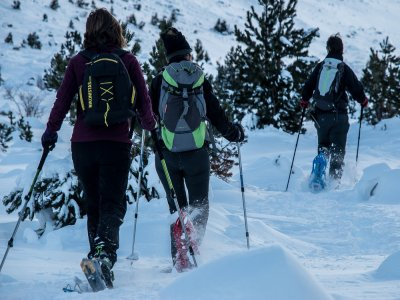 Alquiler de raquetas de nieve en Andorra niños