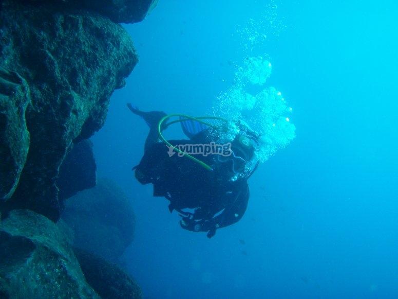 Goditi il mondo sottomarino