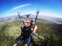 The best paragliding flight through the province of Cádiz