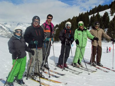 Private ski lesson for groups Cerler 1hr