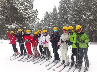 Private group ski lesson 2 hrs Cerler