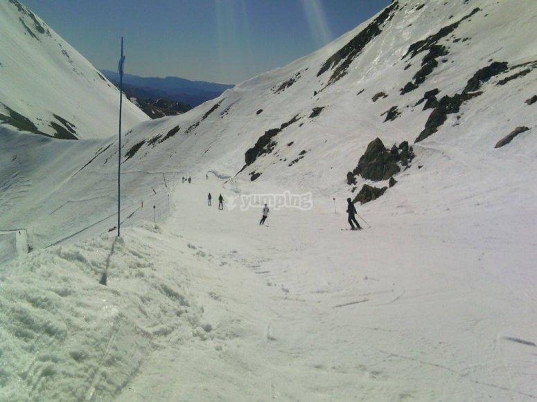 Enjoy the slopes