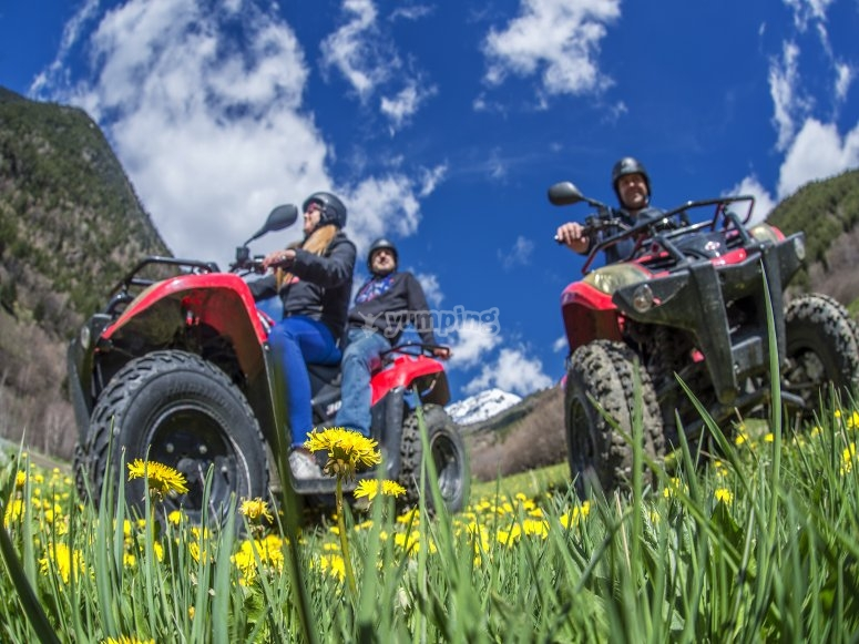 Quads in Andorra