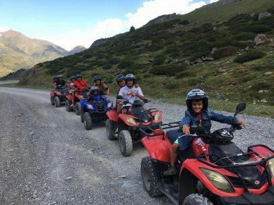 Ruta en quad biplaza en Andorra medio día