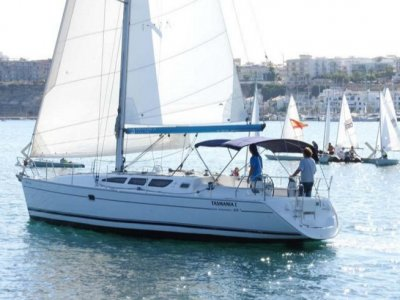 没有船长淡季的帆船梅诺卡岛