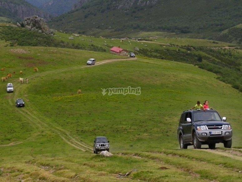 Recorrido por el campo Andorra