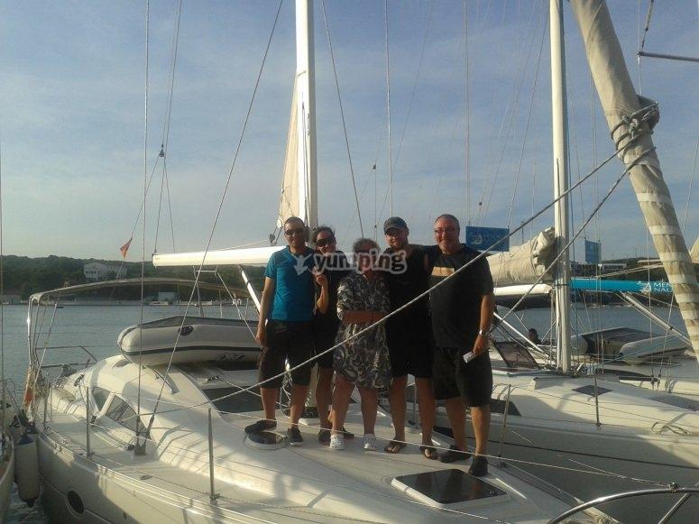 Antes de salir de Puerto